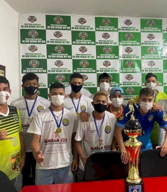 Jogando em casa, Rio Verde de MT garante título do Estadual de Futsal Sub-16