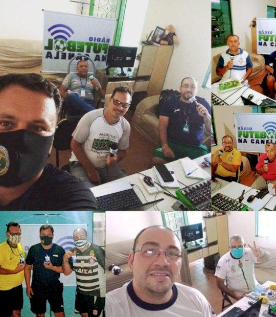 Há um mês no ar, Rádio Futebol na Canela lidera audiência no rádio esportivo da capital